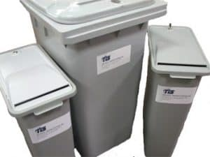 Document Shredding Containers
