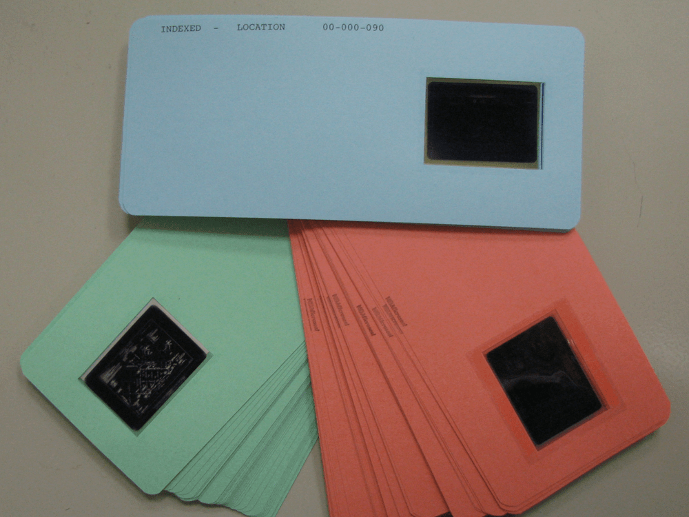 Aperture Card Scanning, Duplication & Conversion